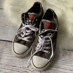 Converse All Star Low Top Double Tongue Sneakers